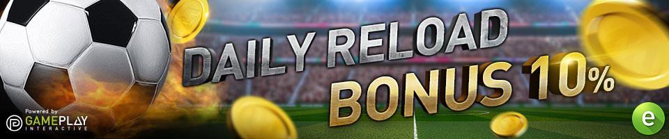 W88 Esport daily reload bonus