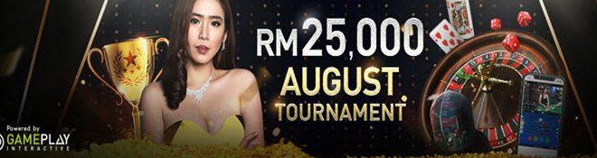 W88 - august live casino tourney